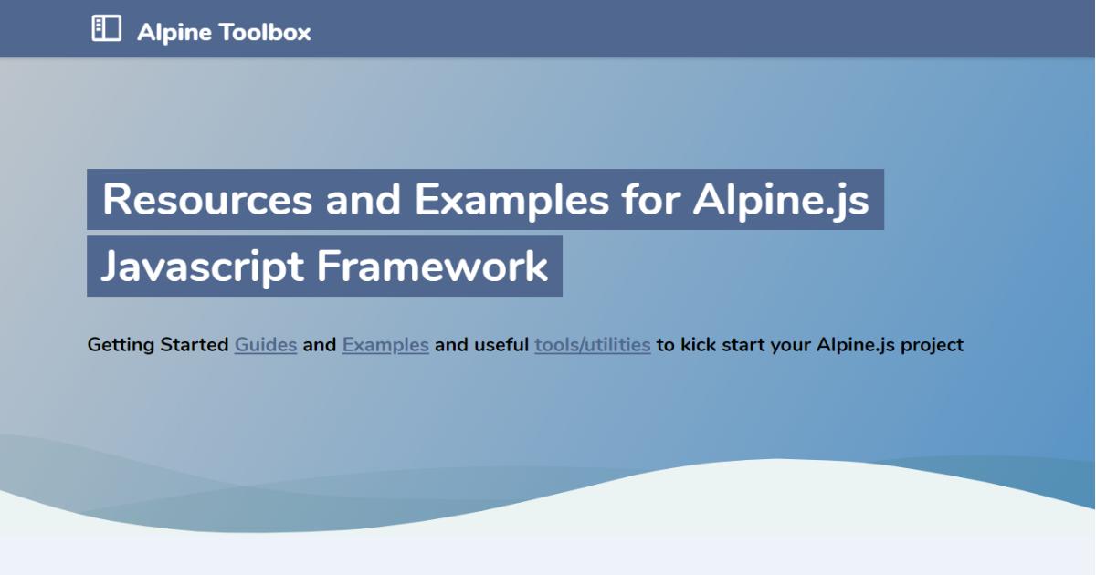 Alpine Toolbox thumbnail